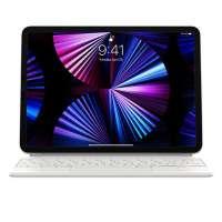 Apple Magic Wireless Keyboard For Apple iPad Pro 11 Inch and iPad Air Arabic, White MJQJ3AB/A