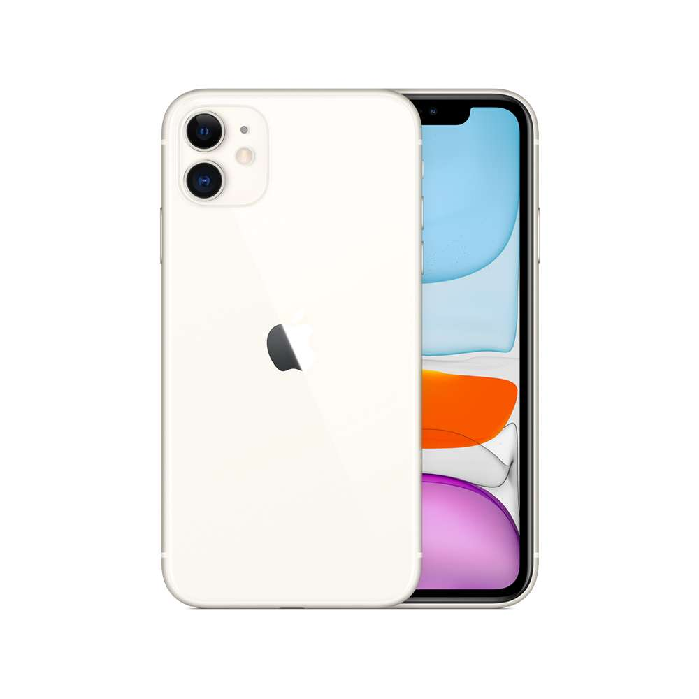 Apple iPhone 11 256GB White with FaceTime