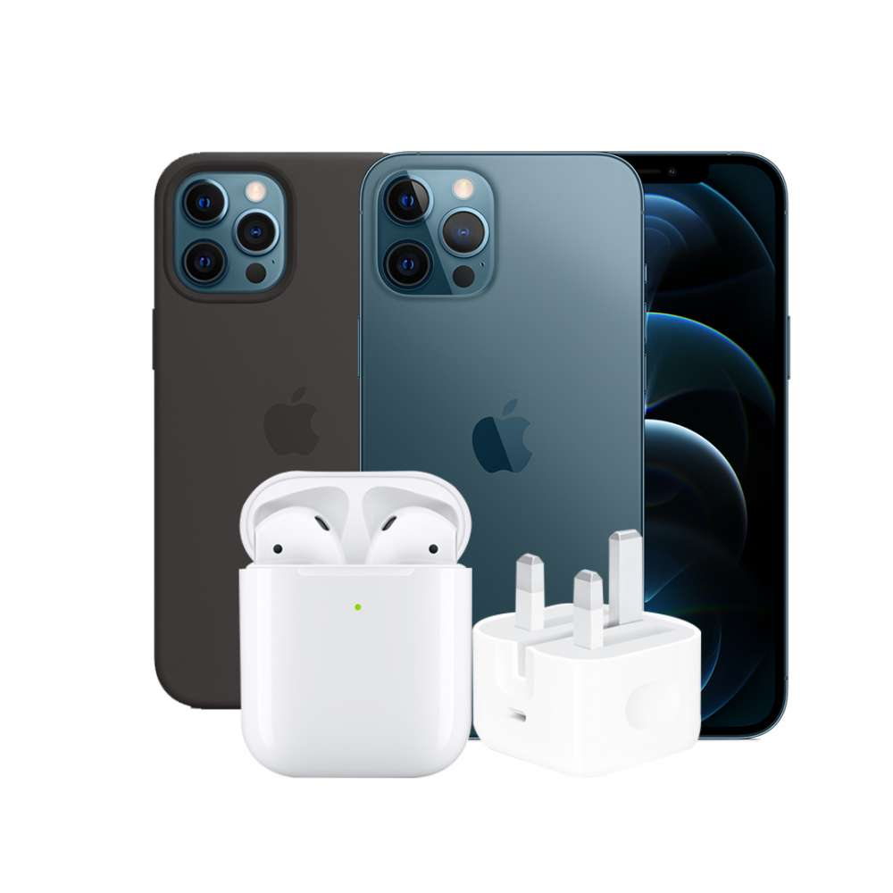 - iPhone 12 pro 256GB-Airpods 2-20W-Adaptor-Magsafe-Case