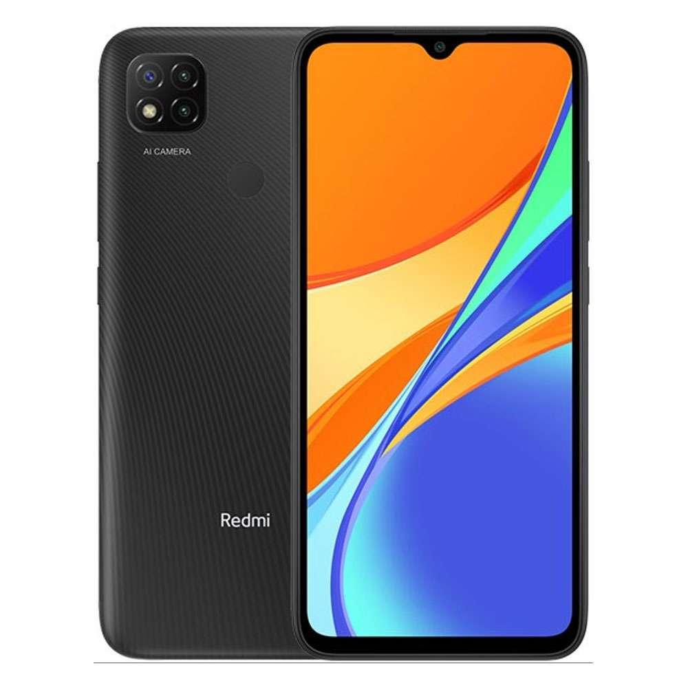 Xiaomi Redmi 9C Dual SIM 2GB RAM, 32GB 4G LTE Smart Phone, Gray