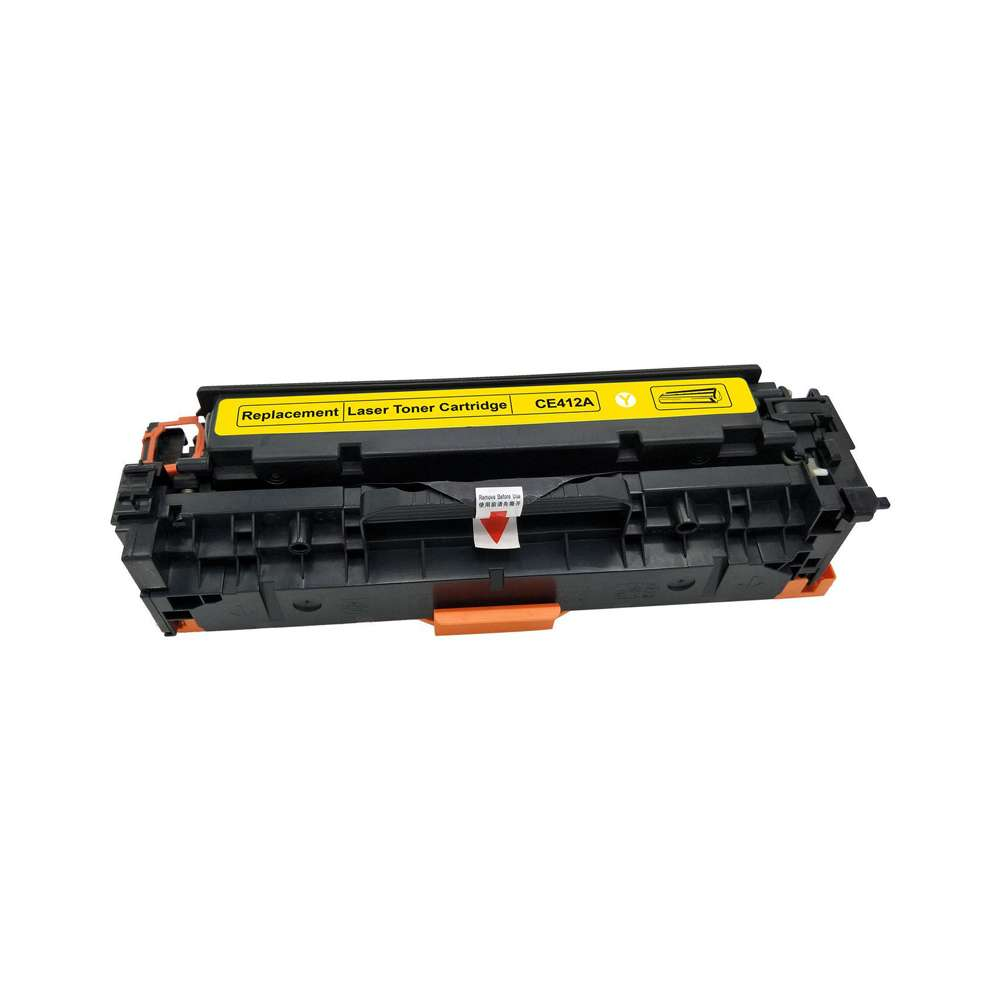 HP 305A Yellow Compatible LaserJet Toner Cartridge - CE412A