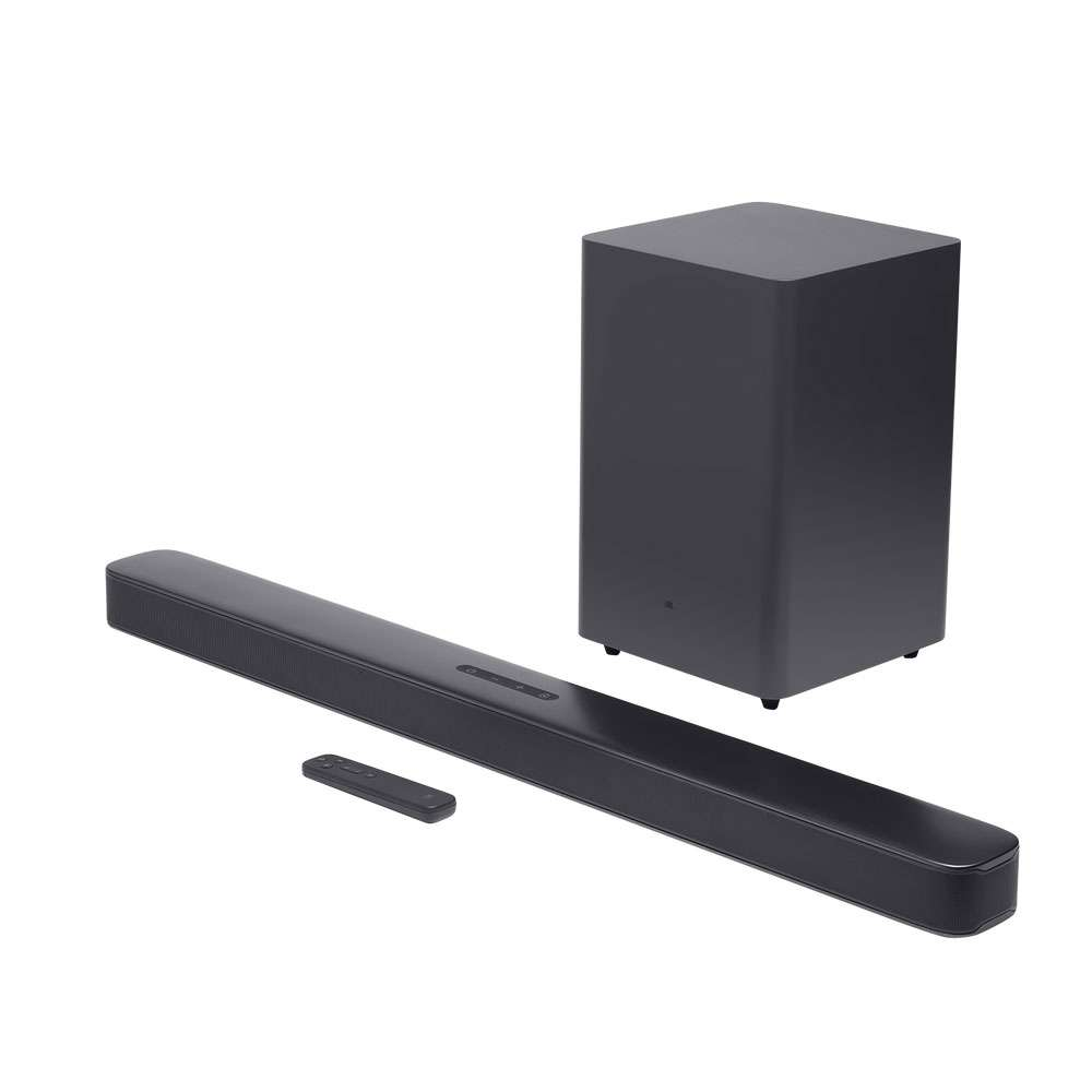 JBL 2.1 Deep Bass Channel Soundbar Wireless Speaker, Black