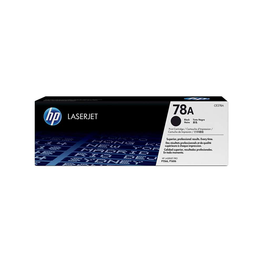 HP 78A LaserJet Toner Cartridge Black - CE278A