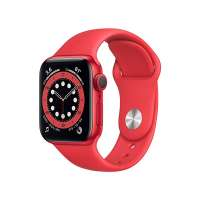 Apple Watch Series 6, 40mm, GPS, Red Aluminium Case With Sport Band